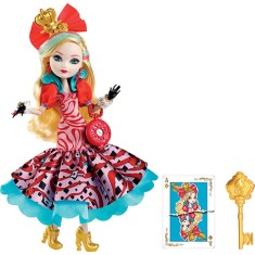 Boneca Ever After High País das Maravilhas Apple White Mattel
