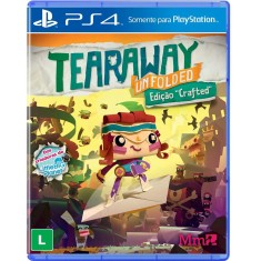 Jogo Tearaway Unfolded PS4 Media Molecule
