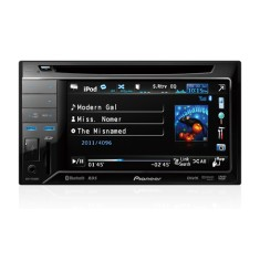 "DVD Player Automotivo Pioneer 6 "" AVH-P3380BT Touchscreen USB"