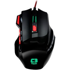 Mouse Óptico Gamer USB MG7208 - C3 Tech