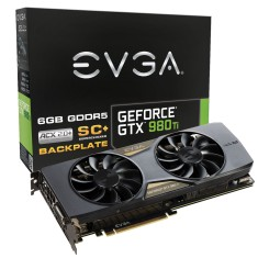 Placa de Video NVIDIA GeForce GTX 980 Ti 6 GB GDDR5 384 Bits EVGA 06G-P4-4995-KR