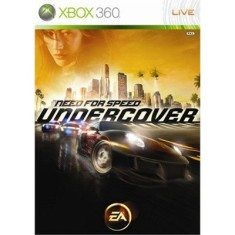 Jogo Need For Speed Undercover Xbox 360 EA
