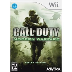 Jogo Call Of Duty: Modern Warfare Reflex Wii Activision