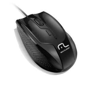 Mouse Óptico Profissional USB MO164 - Multilaser