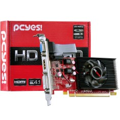 Placa de Video ATI Radeon HD 6450 1 GB DDR3 64 Bits PCYes PS64506401D3LP