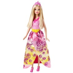 Boneca Barbie Mix & Match Princesa Rosa Mattel