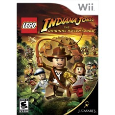 Jogo Lego Indiana Jones: The Original Adventures Wii LucasArts