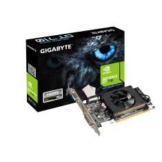 Placa de Video NVIDIA GeForce GT 710 2 GB DDR3 64 Bits Gigabyte GV-N710D3-2GL