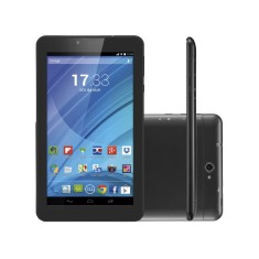 "Tablet Multilaser M7 3G 8GB LCD 7"" Android 4.4 (Kit Kat) 2 MP NB223"