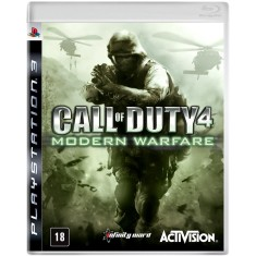 Jogo Call of Duty 4: Modern Warfare PlayStation 3 Activision