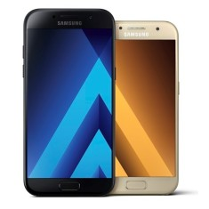 Smartphone Samsung Galaxy A7 2017 32GB A720F 16,0 MP 2 Chips Android 6.0 (Marshmallow) 3G 4G Wi-Fi
