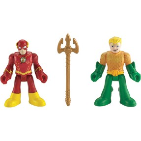 Boneco Aquaman The Flash Imaginext BBF20/BFW70 - Mattel