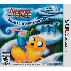 Jogo Adventure Time: O Segredo do Reino Sem Nome Little Orbit Nintendo 3DS