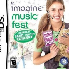 Jogo Imagine Music Fest Ubisoft Nintendo DS