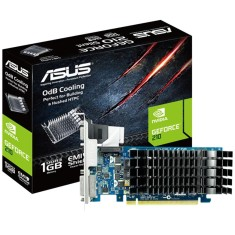 Placa de Video NVIDIA GeForce 210 1 GB DDR3 64 Bits Asus EN210 SILENT/DI/1GD3/V2(LP)