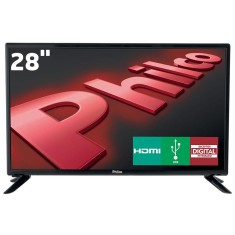 "TV LED 28"" Philco PH28D27D 2 HDMI USB PC"