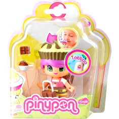 Boneca Pinypon Cupcake Chocolate Multikids
