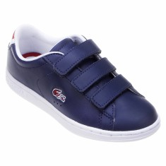 Tênis Lacoste Infantil (Menino) Casual Carnaby Evo