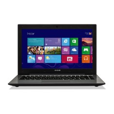 "Notebook CCE Ultra Thin Intel Core i3 3217U 4GB de RAM HD 500 GB 14"" Windows 8 T345"