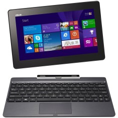 "Notebook Conversível Asus Transformer Book Intel Atom Z3740 2GB de RAM HD 500 GB SSD 32 GB 10,1"" Touchscreen Windows 8.1 T100"