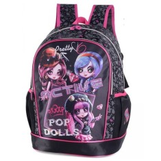 Mochila Escolar Luxcel Pop Dolls IS31271PD M