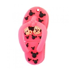 Pen Drive Importado 8 GB USB Chinelo Minnie e Mickey