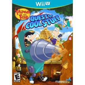Jogo Phineas and Ferb: Quest For Cool Stuff Wii U Majesco Entertainment