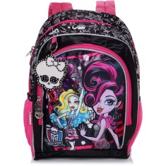 Mochila Escolar Sestini Monster High 17 Litros Monster High 15Y01 G