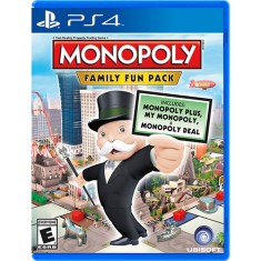 Jogo Monopoly Family Fun Pack PS4 Ubisoft