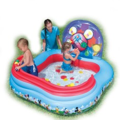 Piscina Inflável 151 l Quadrada Bestway Play Center Mickey Mouse 91015
