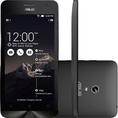 Smartphone Asus ZenFone 5 8GB A501CG 2GB RAM 1.6GHz 8,0 MP 2 Chips Android 4.3 (Jelly Bean) 3G Wi-Fi