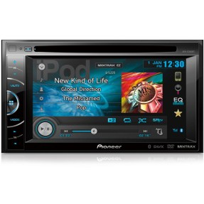 "DVD Player Automotivo Pioneer 6 "" AVH-X2680BT Touchscreen Bluetooth"