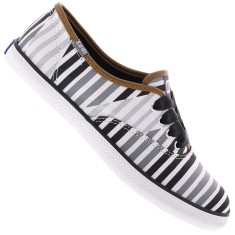 Tênis Keds Feminino Casual Champion Multi Stripes