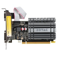 Placa de Video NVIDIA GeForce GT 730 2 GB DDR3 64 Bits Zotac ZT-71105-10BB