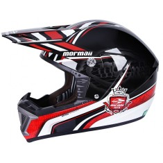 Capacete Mormaii Cross Radius Off-Road