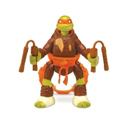 Boneco Tartarugas Ninja Michelangelo Throw In Battle BR285 - Multikids
