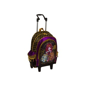 Mochila com Rodinhas Escolar Sestini Monster High 12 Litros Monster High 63251