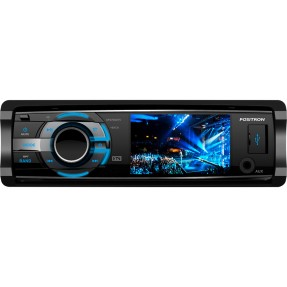 "DVD Player Automotivo Pósitron 3 "" SP4700 DTV Entrada para camêra de ré USB"
