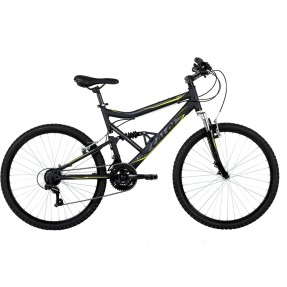 Bicicleta Mountain Bike Caloi 21 Marchas Aro 26 Suspensão Full Suspension Freio V-Brake SK