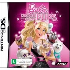 Jogo Barbie Groom And Glam Pups THQ Nintendo DS