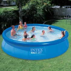 Piscina Inflável 10.681 l Redonda Intex Easy Set 56410