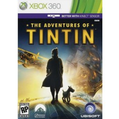Jogo The Adventures of Tintin Secret of the Unicorn Xbox 360 Ubisoft