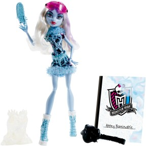 Boneca Monster High Aula de Arte Abbey Mattel