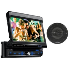 "DVD Player Automotivo Pósitron 7 "" SP6861 Touchscreen Bluetooth"