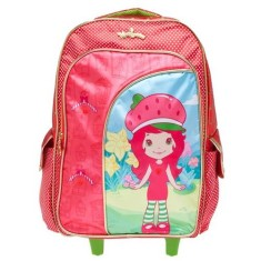 Mochila com Rodinhas Escolar Xeryus Moranguinho Dress Up 14 5651