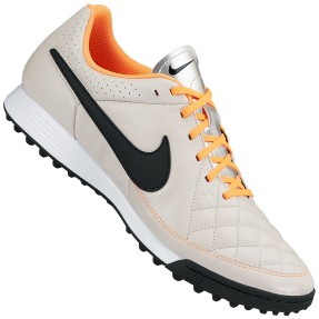 Chuteira Society Nike Tiempo Gênio Leather TF Adulto