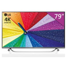 "Smart TV LED 79"" LG 4K 79UF7700 3 HDMI"