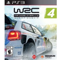 Jogo WRC 4: Fia World Rally Championship PlayStation 3 Maximum Games