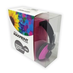 Headphone Maxprint com Microfone Neon 601208