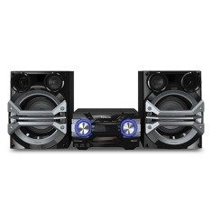 Mini System Panasonic SC-AKX600LBK 1.300 Watts Ripping Bluetooth USB